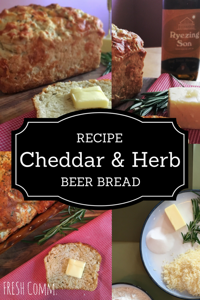 cheddar and herb beer bread recipe
