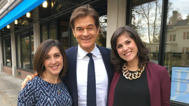 A Lovely Lunch with Dr. Oz